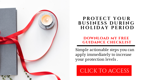 holiday business attacks
